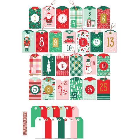Набор для изготовления адвент-календаря - Holly Jolly Advent Kit