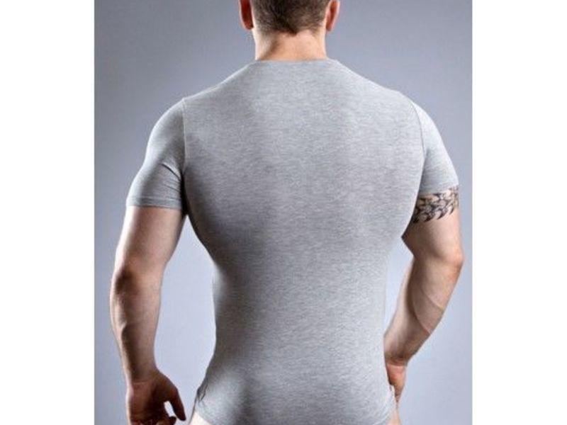Мужская футболка серая Doreanse 2855