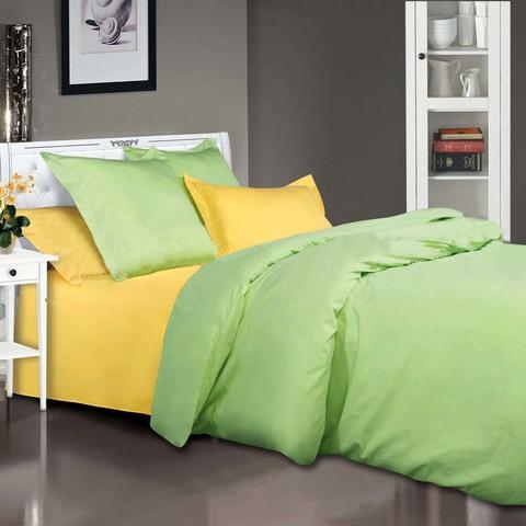 Комплект постельного белья  Лайм Premium