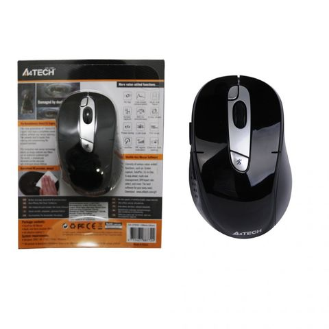 Мышь беспроводная G9-570HX черный A4TECH
