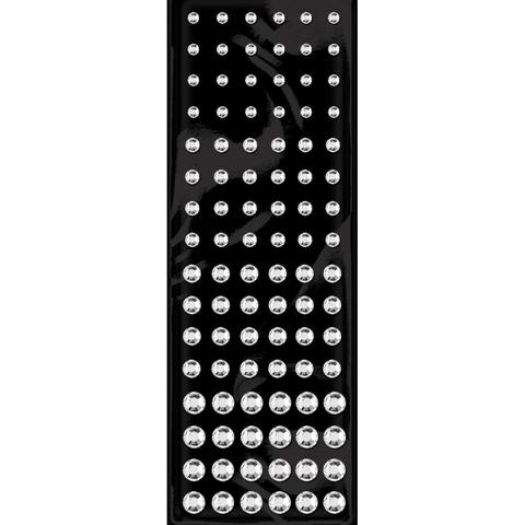Стразы Rhinestone Stickers Assorted Singles - Crystal