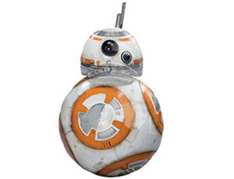 Фольгированный шар Звездные Войны Дроид BB-8