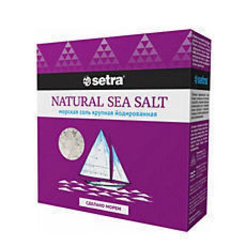Морская соль йодированная, 500 гр
