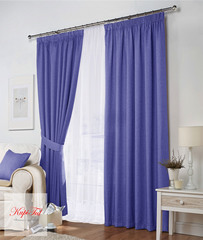 Комплект штор Тоскана (голубой)