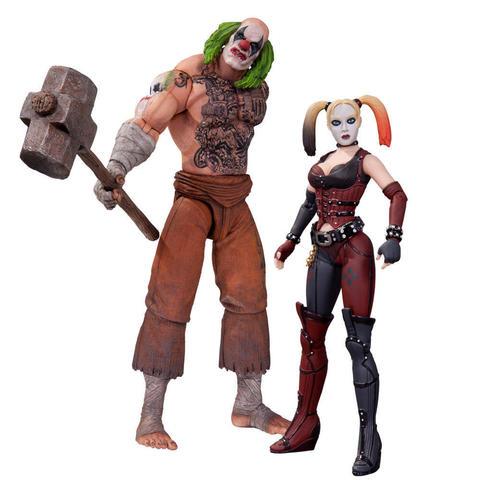 Batman Arkham City Two Pack - Mr. Hammer & Harley Quinn