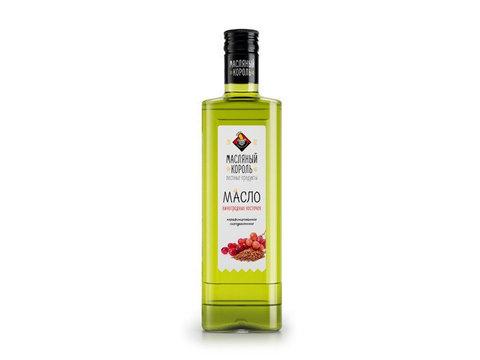 Масляный король масло виноградной косточки рафинированное 0,35 л