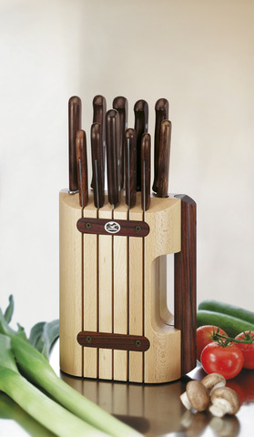 Набор Victorinox кухонный, 11 предметов, в подставке, дерево