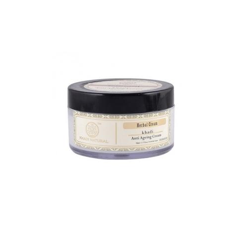 Антивозрастной крем для лица с маслом кокума Khadi Natural, 50 гр
