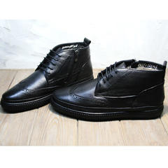 Ботинки с мехом мужские Rifellini Rovigo C8208 Black