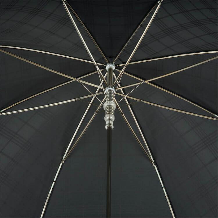 Зонт-трость Pasotti 478 6434/19 W38 - Silver Bulldog