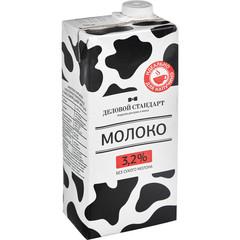 Молоко Деловой стандарт питьевое ультрапастеризованное 3.2% 1 л