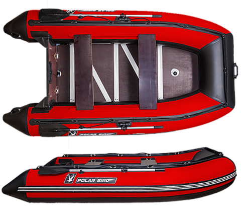 Лодка надувная Polar Bird 360 Merlin (Фанера)