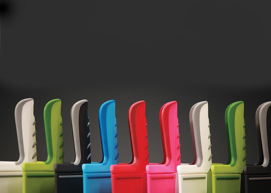 Доска разделочная складная Chop2Pot™ Plus большая, 48 х 27 см, пластик, красная Joseph Joseph 60042   Купить в Москве, СПб и с доставкой по всей России   Интернет магазин www.Kitchen-Devices.ru