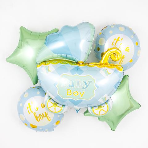 Набор шаров на выписку мальчика