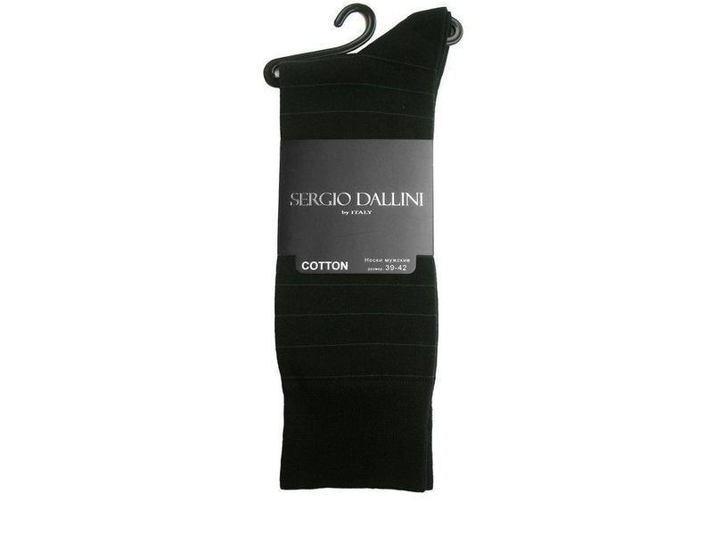 Мужские носки черные Sergio Dallini SDS802-1