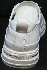 Белые модные кроссовки туфли на низком ходу женские El Passo sy9002-2 Sport White.