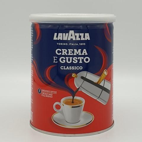 Кофе молотый Crema e Gusto LAVAZZA, 250 гр