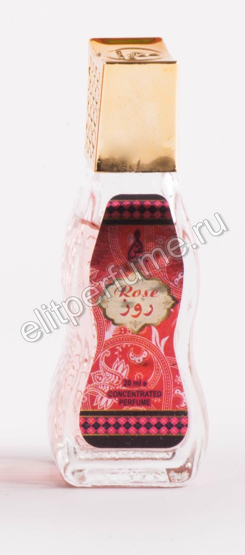 Rose Роза 20 мл арабские масляные духи от Халис Khalis Perfumes