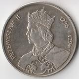 K7211, 1985, Польша, 100 злотых Король Пшемыслав II
