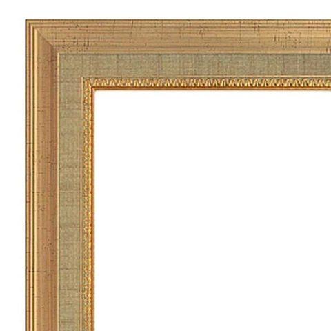 Фоторамка Ампир (с паспарту) 20х50 Формат-А (золото) (4 паспарту 10х15)