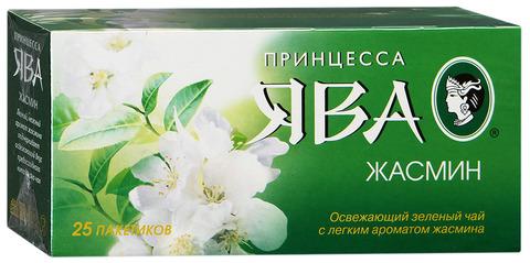 """Чай зелёный """"Ява"""" нежный жасмин 25*2г"""