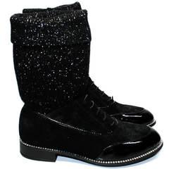Туфли чулки короткие Kluchini 5161 k255 Black