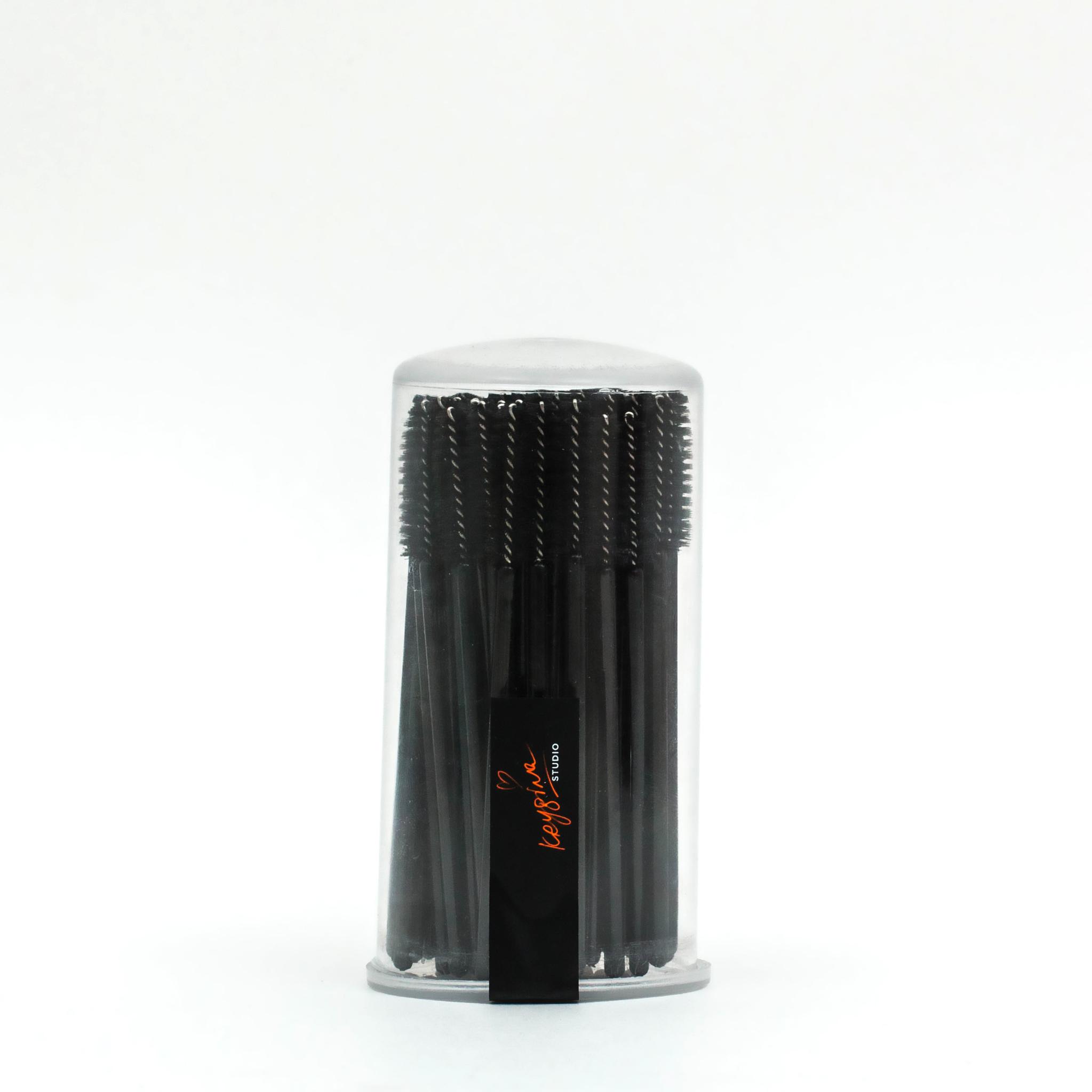 Одноразовая щеточка для ресниц и бровей KRYGINA STUDIO 80 шт.