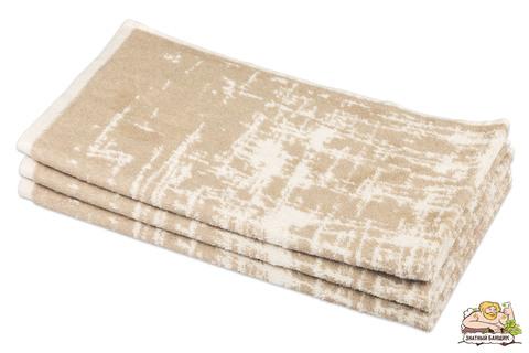 Полотенце банное махровое льняное