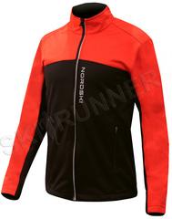 Утеплённая лыжная куртка Nordski Active Red-Black 2020
