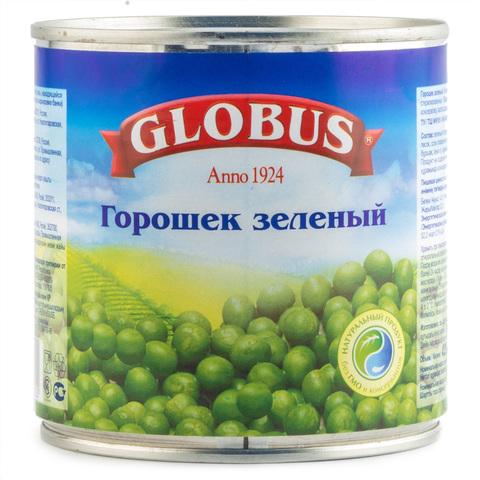"""Зеленый горошек """"Globus"""", 400 г"""