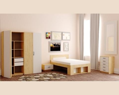 Спальня модульная БЕЛЛРОК