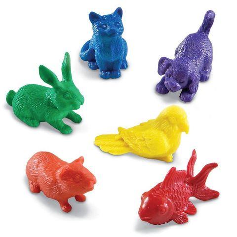 LER0780 Набор фигурок Домашние животные Learning Resources