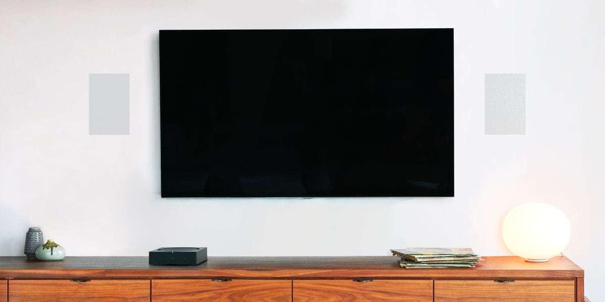 Встраиваемая акустика SONOS In-Wall by Sonance с TV