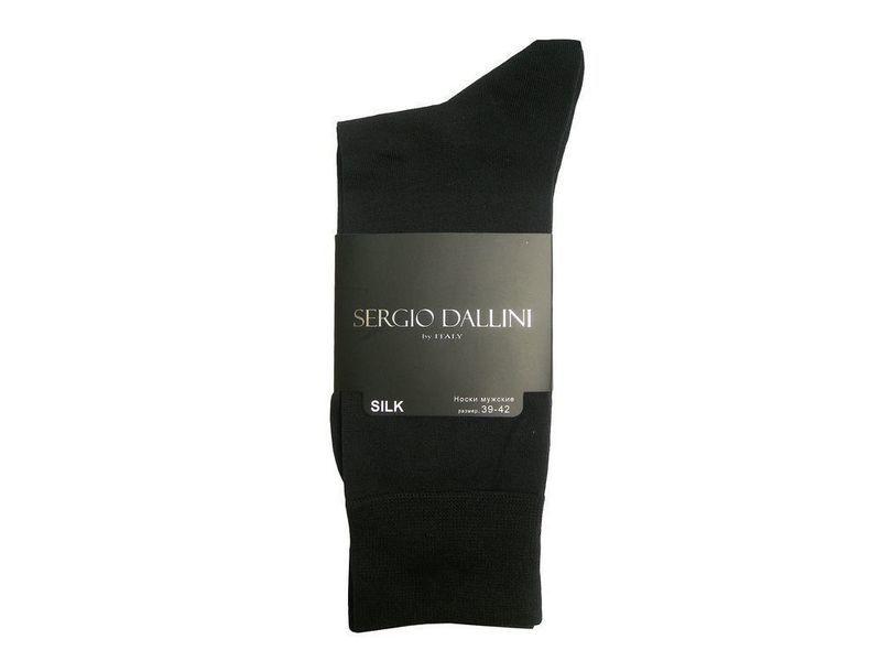 Мужские носки черные Sergio Dallini SDS801-1