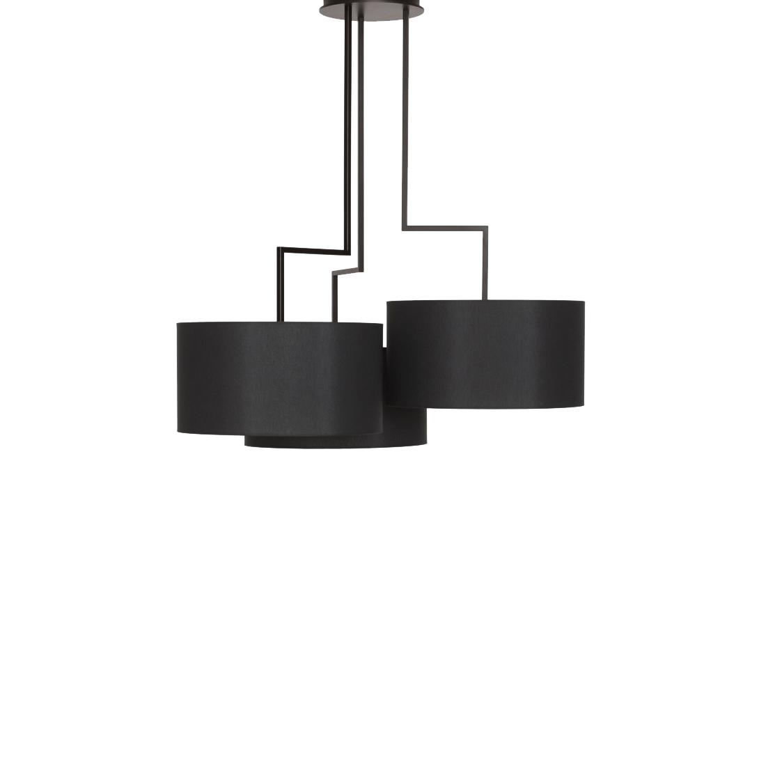 Потолочный светильник копия Noon 3 by Zeitraum (черный)