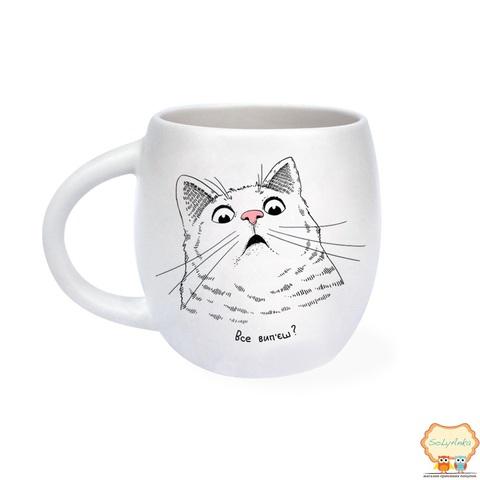 Чашка Здивований кіт