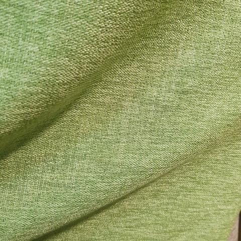 Блэкаут лен для штор светло-зеленый оптом. BLL-15