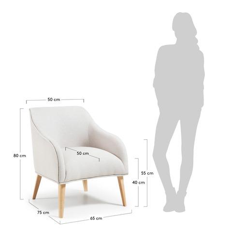Кресло Lobby бежевое