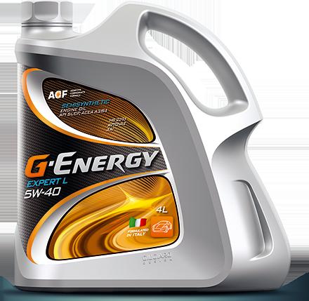 G-Energy Expert L 5W40 Полусинтетическое моторное масло
