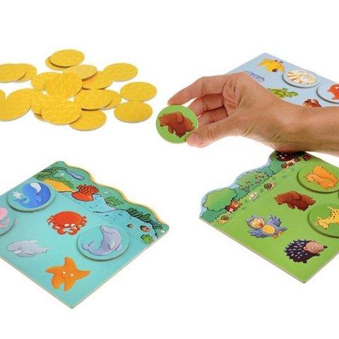 Игра детское лото Животные