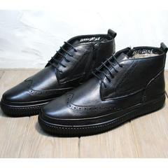 Ботинки зима мужские Rifellini Rovigo C8208 Black
