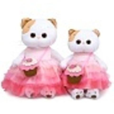 Кошечка Ли-Ли с сумочкой-пирожным LK24-050