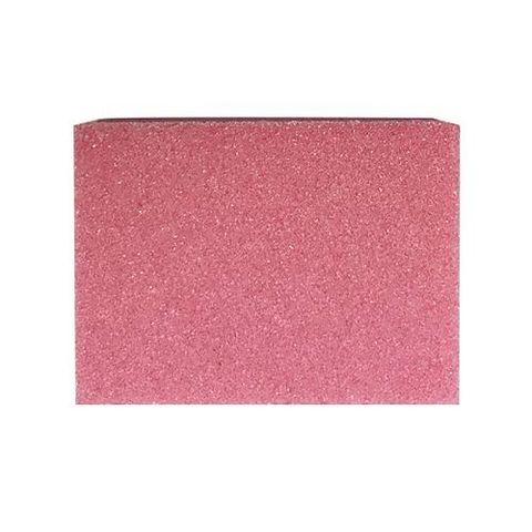 Баф (ластик) мини 100/180  розовый (Пачка 50 шт.)