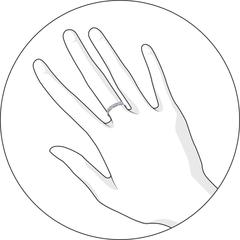 94011441 -Кольцо дорожка  из серебра с фианитами