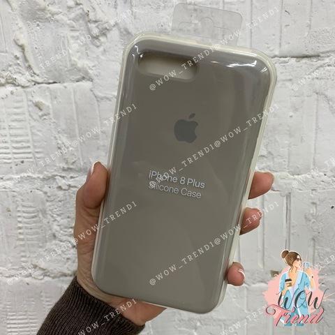 Чехол iPhone 7+/8+ Silicone Case /pebble/ ракушка 1:1