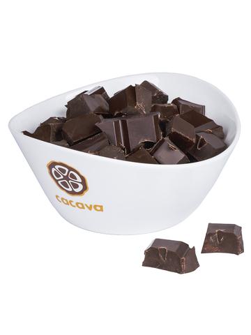 Тёмный шоколад 70 % какао (Мадагаскар), внешний вид