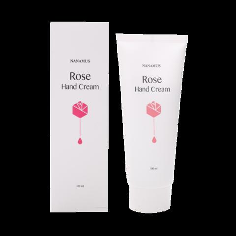 Крем для рук с экстрактом розы NANAMUS ROSE HAND CREAM 100 мл