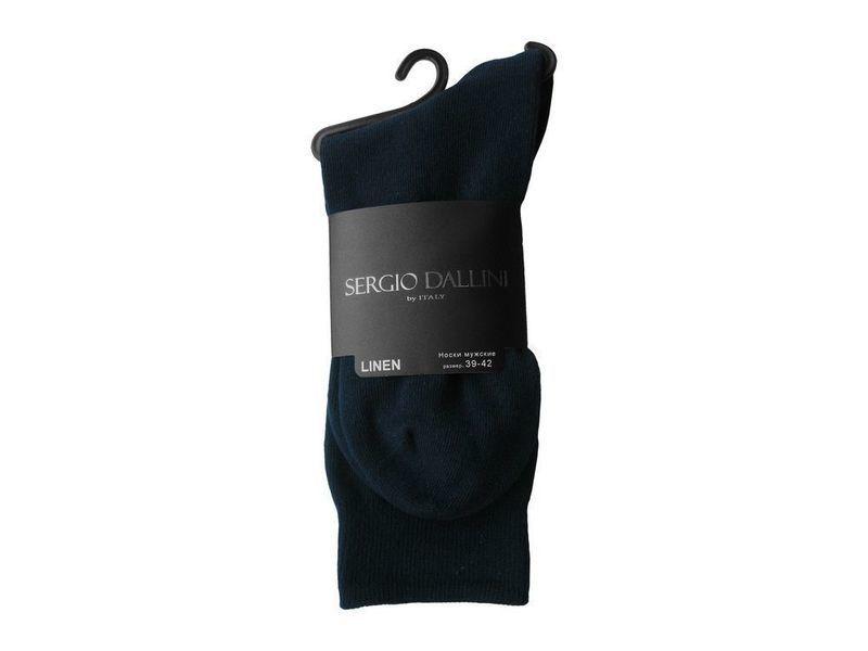 Мужские носки темно-синие Sergio Dallini SDS800-2