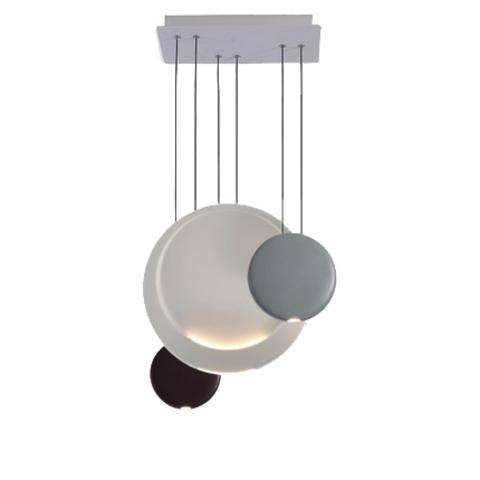 Подвесной светильник Cosmos Luna by Vibia (3 плафона)