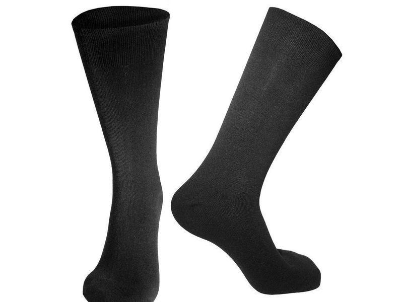 Мужские носки черные Sergio Dallini SDS800-1